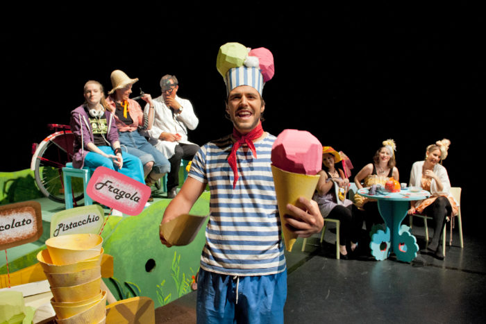 Theaterpädagogik, Szene 5